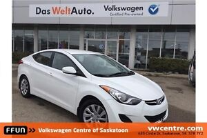 2013 Hyundai Elantra GL Local Trade-in with PST Paid!