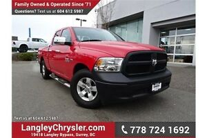 2014 RAM 1500 ST LOCALLY DRIVEN, ONE OWNER & ACCIDENT FREE