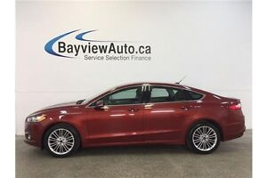 2014 Ford FUSION SE- ECOBOOST! AWD! SUNROOF! LEATHER! SYNC!