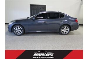 2010 Infiniti G37x AWD, NAVIGATION, LOCAL UNIT