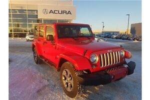 2016 Jeep Wrangler Unlimited Sahara 4X4, NAVIGATION, SIRIUS XM