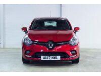 Renault CLIO DYNAMIQUE NAV DCI (red) 2017