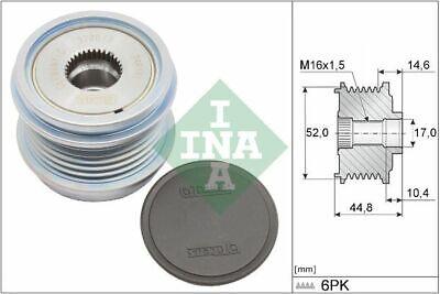 INA (535 0343 10) Freilauf Lichtmaschine, Generator für AUDI SEAT SKODA VW