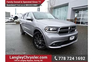 2016 Dodge Durango R/T ACCIDENT FREE w/ AWD & NAVIGATION