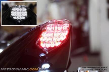 Daytona 675 R Rear Tail Light 2013+