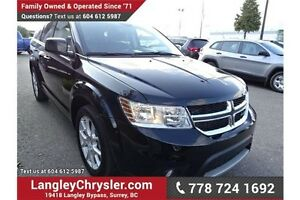 2015 Dodge Journey SXT w/DVD ENTERTAINMENT, SUNROOF& 3rd ROW