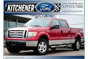 2012 Ford F-150 XLT/CREW/5.0L/PWR SEAT/TOW PCKG/6.5FT BOX/