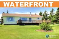 OCEANFRONT Winterized Home Set on 1.43 Acres!