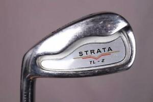 TOP FLITE STRATA LEFT-HANDED GOLF IRON SET