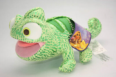 Disney Tangled Rapunzel Pascal Stuffed Doll 8 inch Chameleon Plush Toy Animal