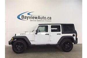 2016 Jeep WRANGLER WILLYS- 3.6L! AUTO! 4x4! CRUISE! U-CONNECT!