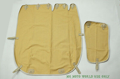Sidecar Cover - CJ750 Old styled 2 in 1 sidecar cover sand color M72 R71 R61 BMW URAL