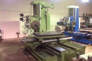 """TOS W100A HORIZONTAL BORING MILL - 3.93"""" (USED)"""