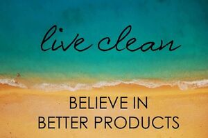 Clean living - chemical free - cruelty free