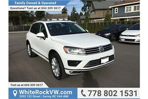2016 Volkswagen Touareg 3.6L Execline MANAGER'S DEMO