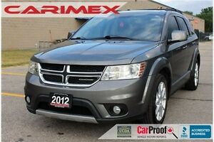 2012 Dodge Journey SXT & Crew SXT & Crew | V6 | Sunroof | Alloys