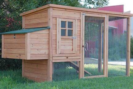 Chicken Coop Rabbit Hutch Ferret Cage Hen Chook House
