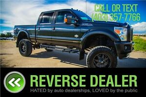 "2012 Ford F-350 Lariat ** 8"" INCH LIFT, 20 INCH RIMS **"