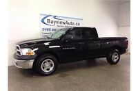 2012 Dodge RAM 1500 - QUAD CAB! 4.7L! FLEX FUEL! TRAILEER HITCH!