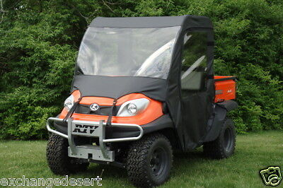 FULL CAB Enclosure w/ Vinyl Windshield ~ Kubota RTV900 + RTV1120~  New ~ UTV
