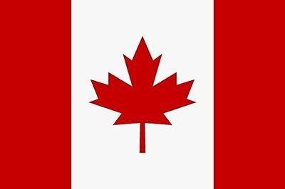 Aufkleber Kanada Flagge Fahne 18 x 12 cm Autoaufkleber Sticker (Autofahne Kanada)