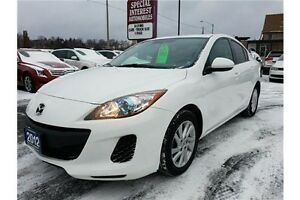 2012 Mazda 3 GS-SKY GS-SKY (A6) !!! SUNROOF !!! ACCIDENT FREE...