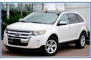 2013 Ford Edge SEL SEL/AWD/LEATHER/V6/PANO ROOF/CAMERA/PLATINUM Kitchener / Waterloo Kitchener Area image 2