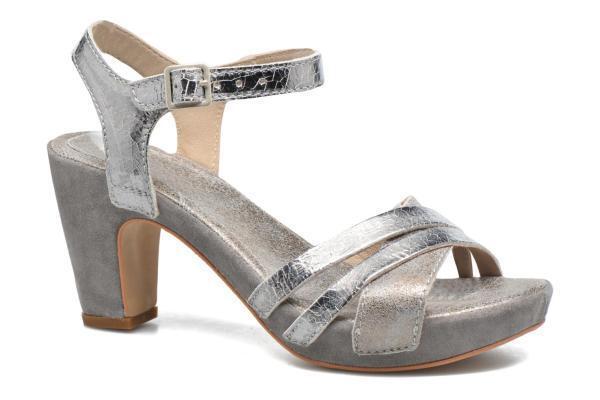 Khrio MIA Leather Crossover Heeled Sandals w Ankle Straps UK 5.5 EU 39 LG04  52