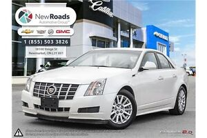 2012 Cadillac CTS Base PEARL WHITE, SUNROOF, BOSE AUDIO