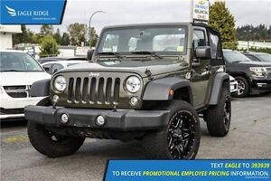 "2015 Jeep Wrangler Sport 6-Speed Manual and 18"" Alloy Wheels"