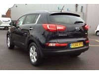KIA SPORTAGE 1.7 CRDi ISG 2 5dr (unknown) 2011