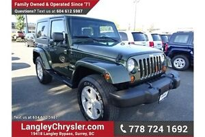 2007 Jeep Wrangler Sahara W/POWER GROUP & A/C