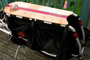 Xtracycle wooden snap deck