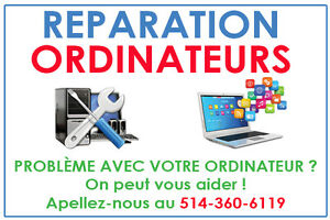 Réparation Ordinateurs & Laptops - Services Informatiques