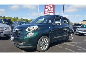 2015 Fiat 500L Lounge !! LEATHER !! SUNROOF !! NAVI !!