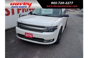 2015 Ford Flex Limited AWD, HEATED LEATHER SEATS, SUNROOF