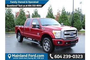 2015 Ford F-350 navigation-Heated seats- back up camera