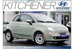 2012 Fiat 500 Lounge Lounge // AUTO // AC // POWER GROUP //