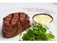 Office Based Restaurant Reservationist - £16-18k - London Steakhouse Company