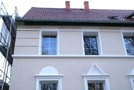 RENDERING,EXTERNAL PLASTERING,BRICK CLEANING,POINTING,PAINTING AND DEC