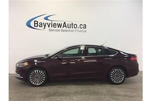 2017 Ford FUSION SE- AWD! ECOBOOST! SUNROOF! LEATHER! NAV! SYNC!