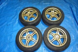 """JDM Rims 16"""" Rays foundry S-05 Wheels Mags 16x7 Offset 48+ 5x100"""