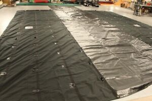 ***LIGHTWEIGHT 3 PC LUMBER TARP SET FOR FLATBEDDERS.**