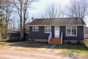 Newly renovated 3 bedroom house/winterized cottage