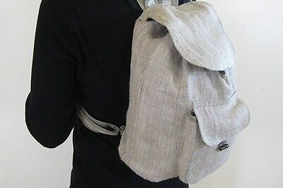 Hemp Backpack ~ Strong natural fiber, choice of colors