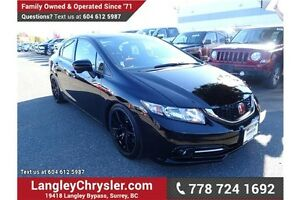 2014 Honda Civic Si W/ NAVIGATION, SUNROOF & HEATED SEATS
