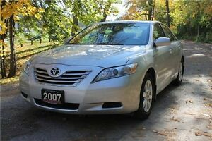 2007 Toyota Camry Hybrid Base | ONLY 42K | Leather | CERTIFIED