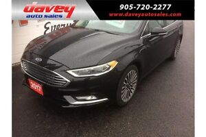 2017 Ford Fusion SE ALL WHEEL DRIVE, REMOTE START, LEATHER IN...