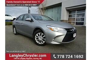 2015 Toyota Camry LE LOCALLY DRIVEN & ACCIDENT FREE