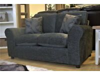 2 Charcoal Grey Sofas